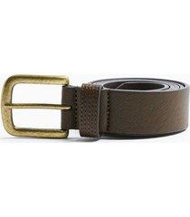 mens brown leather jeans belt