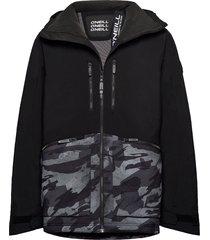 pm texture jacket outerwear sport jackets zwart o'neill