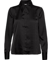 peggy shirt overhemd met lange mouwen zwart twist & tango