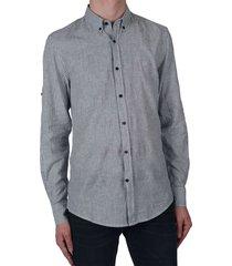 shirt van katoen & linnen
