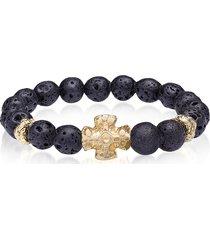 be unique designer men's bracelets, lava style bracelet