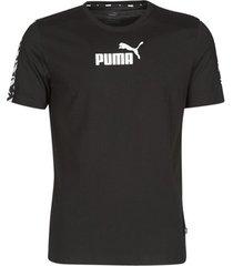 t-shirt korte mouw puma ampli tee