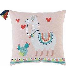 poduszka dla dzieci happy lama z frędzlami