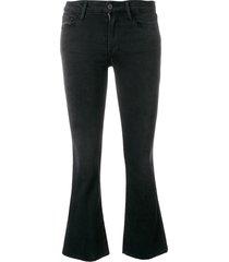 le crop mini boot kerry denim jeans
