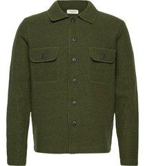 slhneal workwear cardigan w gebreide trui cardigan groen selected homme
