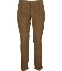 dondup gaubert slim-fit gabardine trousers