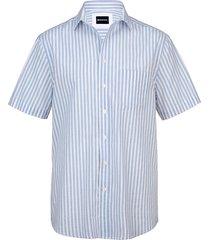 overhemd babista wit::lichtblauw
