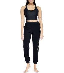 electric yoga women's revolution jogger pants - black - size m