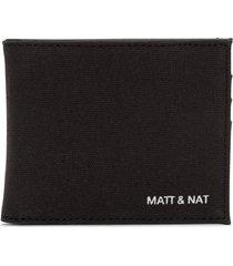 matt & nat rubben wallet, black