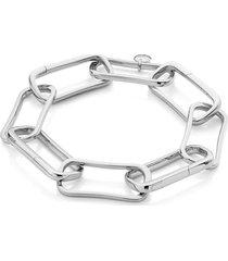 monica vinader alta capture large link bracelet in silver at nordstrom