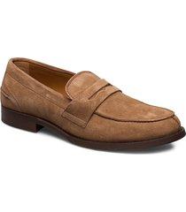 clas. loafer, canc. c27zgxxlg loafers låga skor brun tommy hilfiger