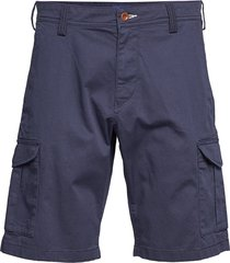 d1. relaxed twill utility shorts shorts casual blå gant