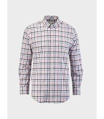 camisa cuadros manga larga para hombre 01843