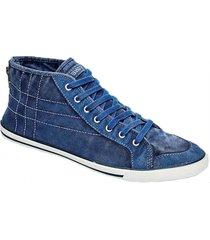 zapatilla azul stone walter