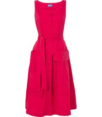 red ramatuelle dress red