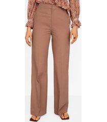 mango women's cotton palazzo pants