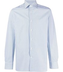 ermenegildo zegna vertical stripe shirt - white