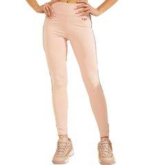 pantalon 44 leggings rosa guess