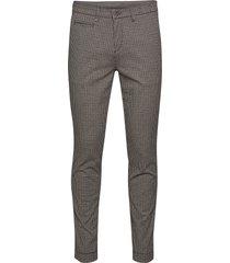 2557 - dolan slim kostymbyxor formella byxor grå sand