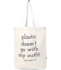 aya paper co. graphic tote bag