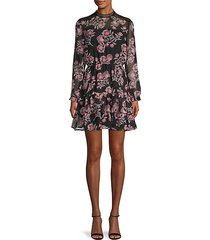 whiskey tango floral dress