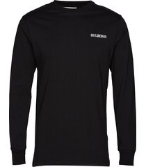 casual long sleeve tee t-shirts long-sleeved svart han kjøbenhavn