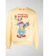 martine rose reversible illustrated sweatshirt