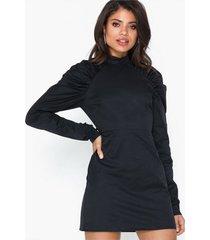glamorous long sleeve high neck dress fodralklänningar