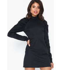 glamorous long sleeve high neck dress fodralklänningar