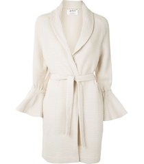 0711 saturday robe jacket - neutrals