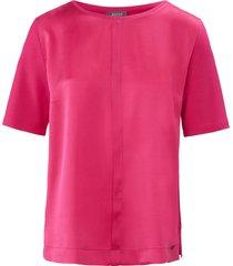 shirt met ronde hals van basler roze