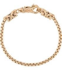 emanuele bicocchi venetian chain bracelet - gold