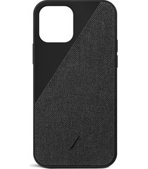 clic canvas iphone 12 mini case - black