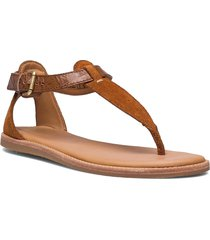 karsea post shoes summer shoes flat sandals brun clarks