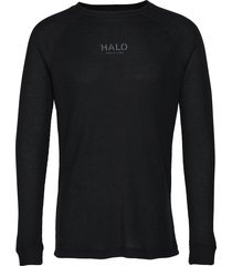 halo military long sleeve t-shirts long-sleeved zwart halo