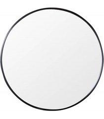 lustro ścienne noemi minimalistyczne czarne 60cm