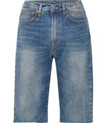 r13 denim shorts