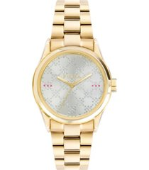 furla women's eva white silver with white diamond dust dial stainless steel watch