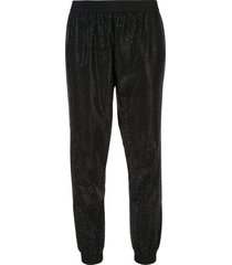 rta finn micro-studded trousers - black