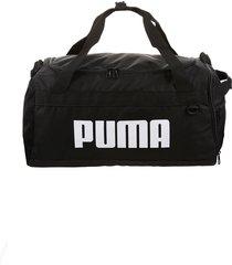 bolso  negro  puma  challenger duffel bag s