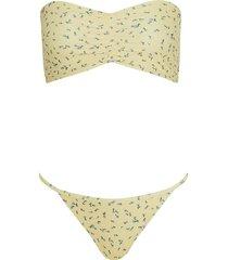 faithfull the brand steffy bikini la fica floral