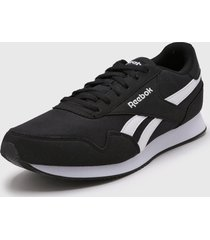 zapatilla negra reebok classic jogger 3.0