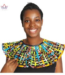 ankara african net necklaces shawl collar african multistrand necklace hademade