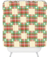 deny designs holli zollinger cross hatch color shower curtain bedding