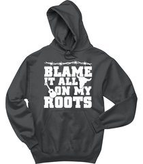 blame it all on my roots country music southern gift shirt hoodie