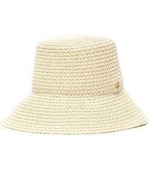 marina' straw bucket hat