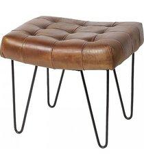 stołek na metalowych nogach vintage tijuana