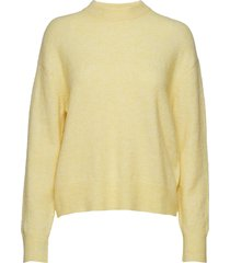 anour o-n 7355 stickad tröja gul samsøe samsøe