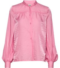 malin blouse lange mouwen roze baum und pferdgarten