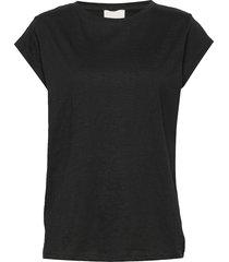leti tee t-shirts & tops short-sleeved svart minus